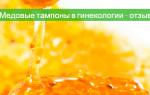 Тампон из меда от эндометриоза