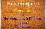 Специи от эндометриоза