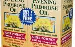 Масло примулы вечерней от эндометриоза